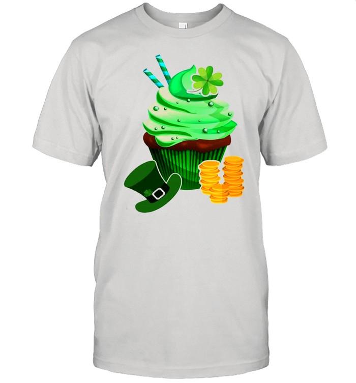 St Patrick's Day Cute Cupcake Shirt