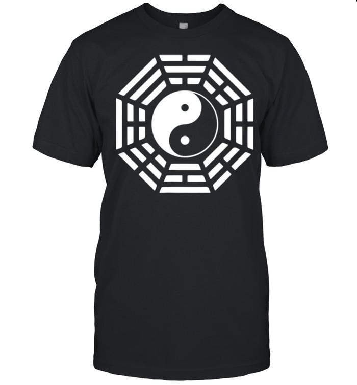 Bagua Mirror Feng Shui Yin Yang Symbol for Tai Chis shirt