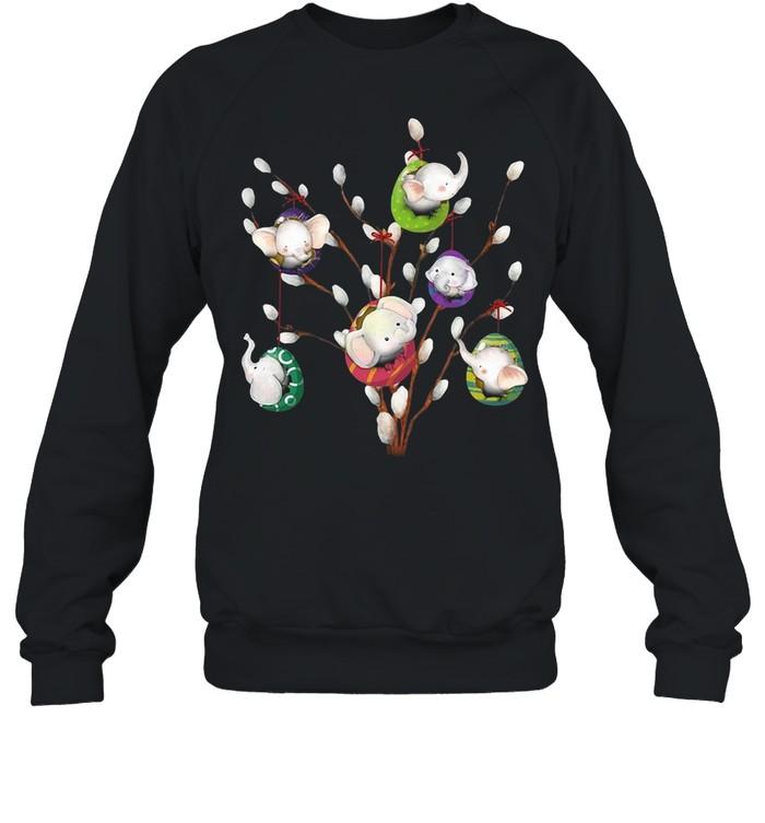 Elephant Willow Egg Eater Day T-shirt Unisex Sweatshirt