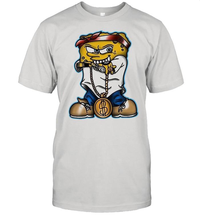 Gangster Spongebob T-shirt