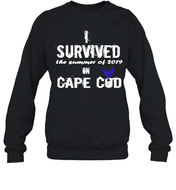 I Survived The Summer Of 2019 Cape Cod Tornado  Unisex Sweatshirt