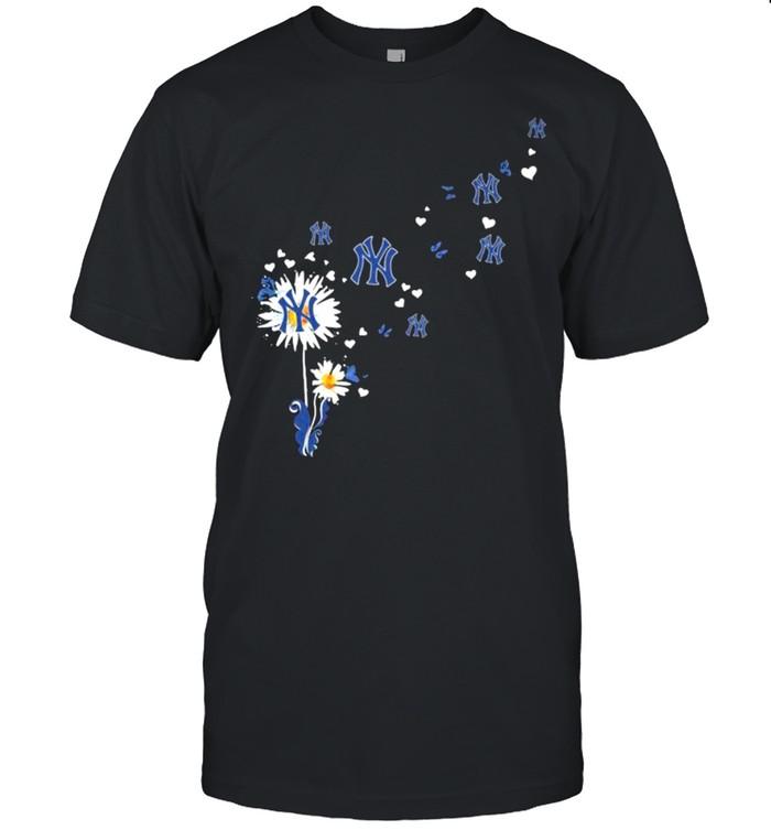 Dandelion New York Yankees Football Shirt