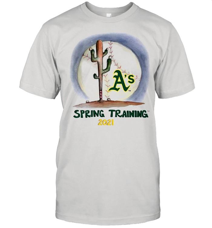 Oakland Athletics spring training 2021 shirt