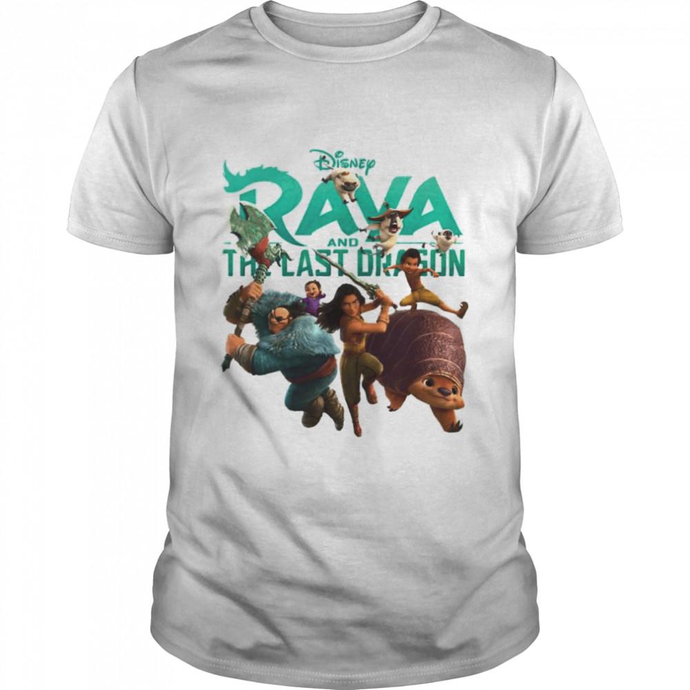 Disney Raya And The Last Dragon Characters Shirt