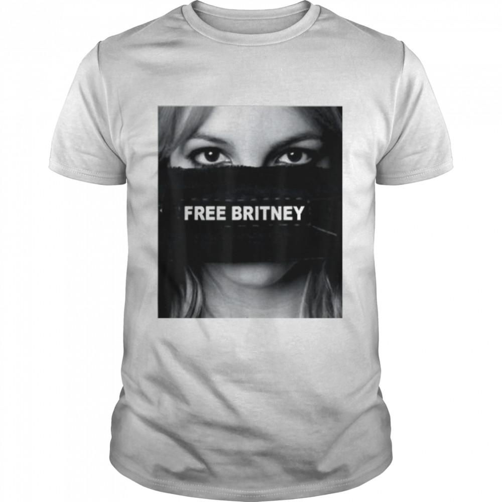 Free Britney Movement Hashtag Shirt