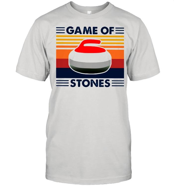 Game Of Stones Curling Vintage Shirt