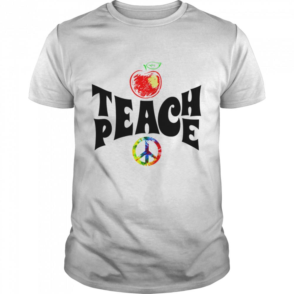 Peace love Hippie shirt Classic Men's T-shirt