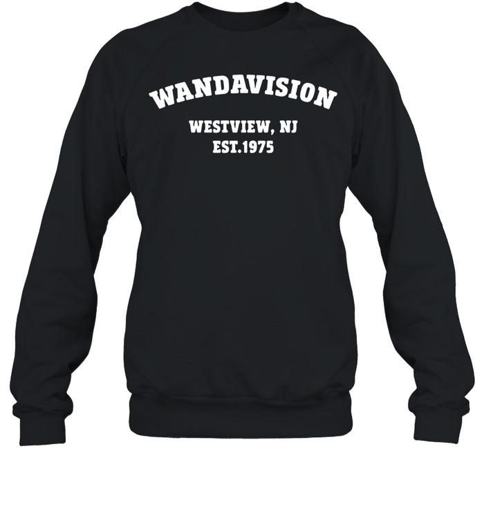 Wandavision Westview Nj Est 1975 shirt Unisex Sweatshirt
