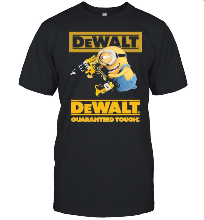 Minion With Dewalt Guaranteed Tough  Classic Men's T-shirt
