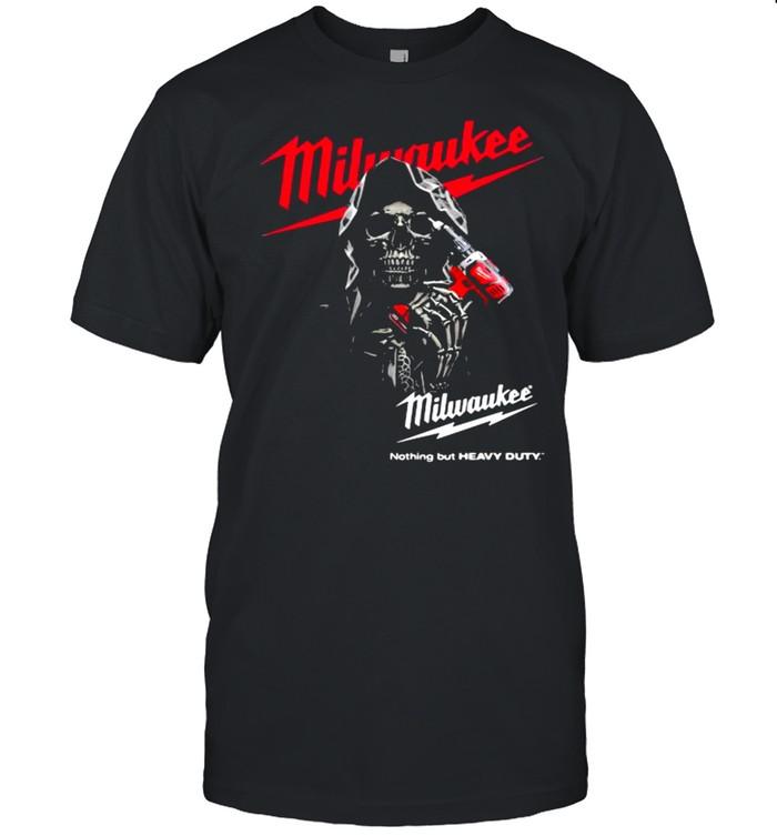 Nothing But Heavy Duty Punisher With Logo Milwaukee Shirt