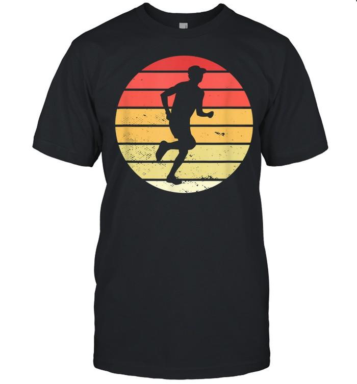 Vintage marathon runner jogger running shirt Classic Men's T-shirt