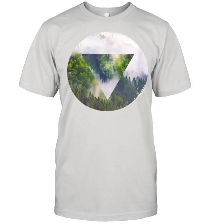 Wood Mirror shirt Classic Men's T-shirt