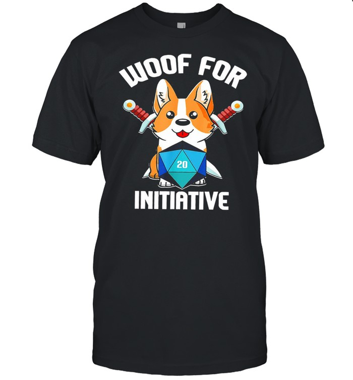 Baby corgi woof for initiative shirt Classic Men's T-shirt