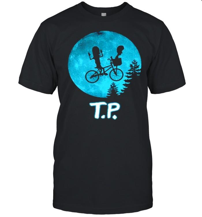 Beavis and Butthead moon TP shirt