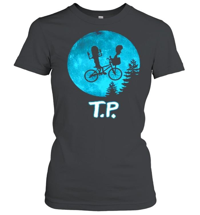 Beavis and Butthead moon TP shirt Classic Women's T-shirt