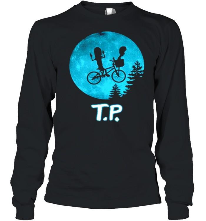 Beavis and Butthead moon TP shirt Long Sleeved T-shirt