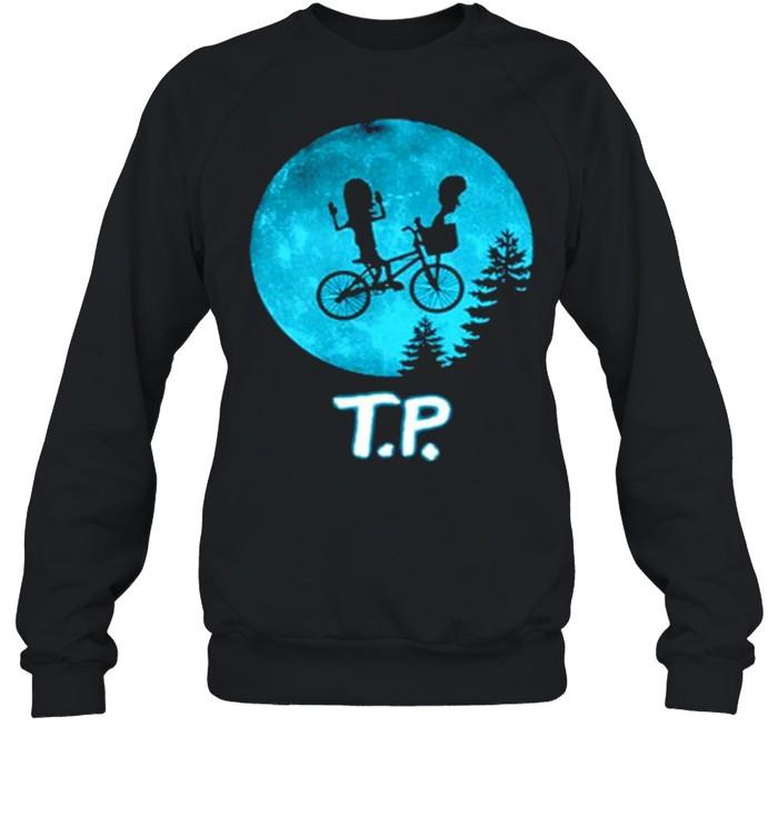 Beavis and Butthead moon TP shirt Unisex Sweatshirt