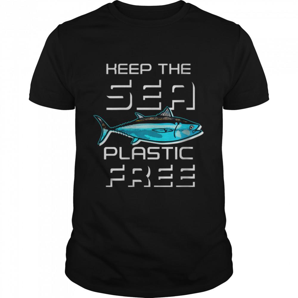 Earth Day 51th Anniversary Sea Plastic Free Clean Ocean shirt