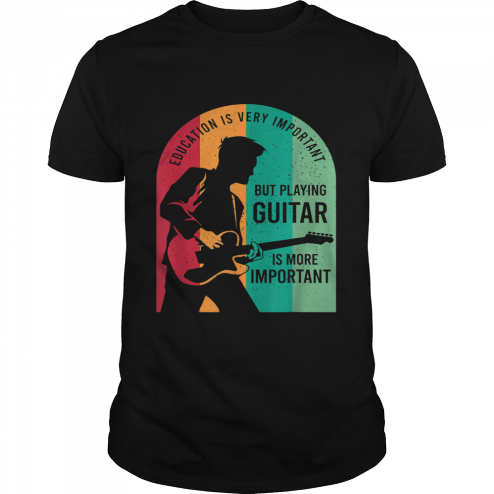 Guitar Player Outfit For A Guitarist shirt