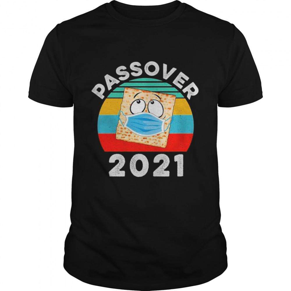Passover Seder Face Mask 2021 Vintage shirt
