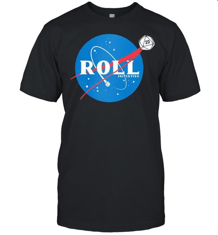 Space roll initiative shirt