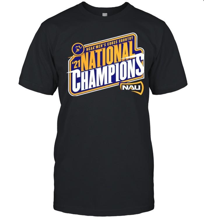 Northern Arizona Lumberjacks 2021 NCAA Men's Cross Country National Champions shirt