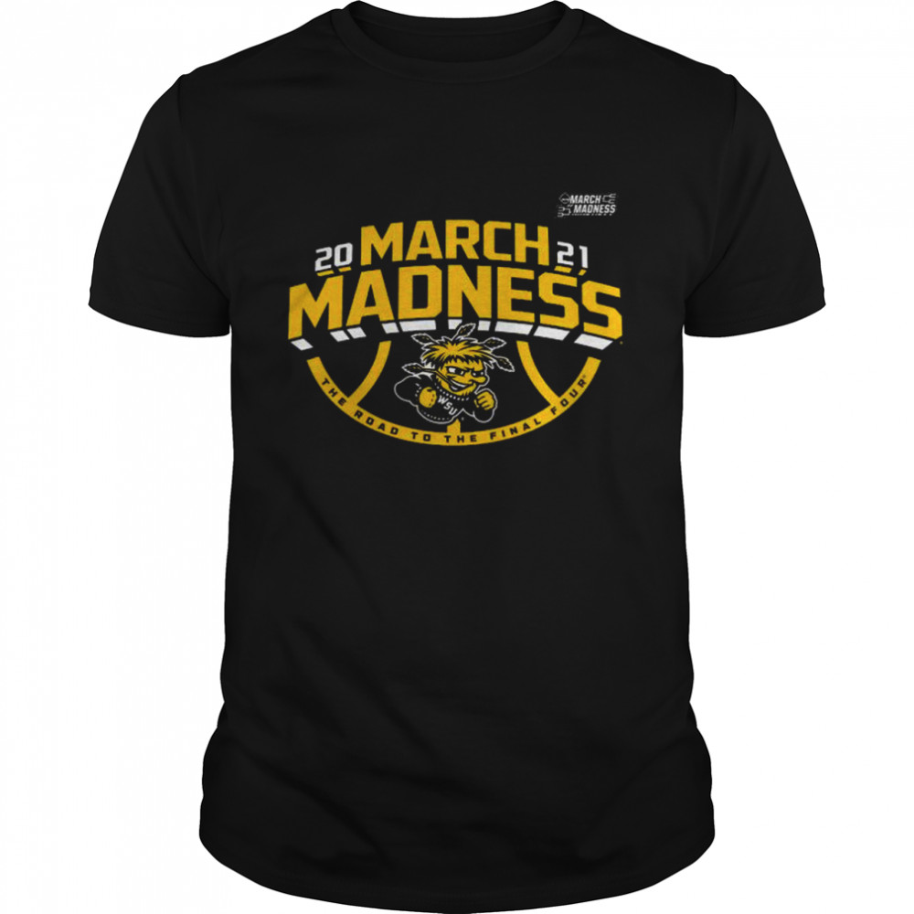 Wichita state shockers 2021 march madness bound ticket shirt Classic Men's T-shirt