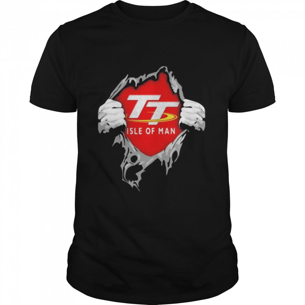 Hero With Logo Isle Of Man Shirt