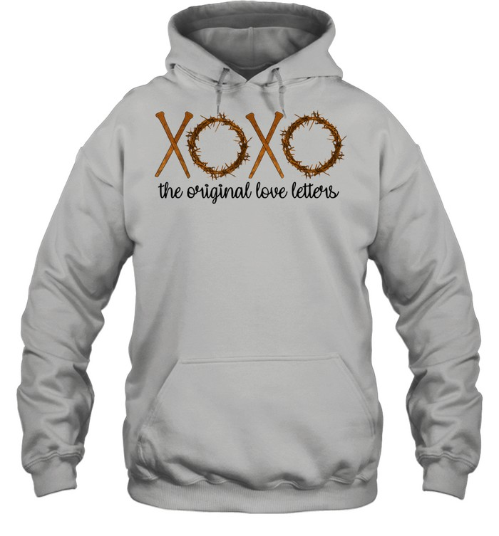 The Original Love Letters Easter Crown Thorns Religious  Unisex Hoodie