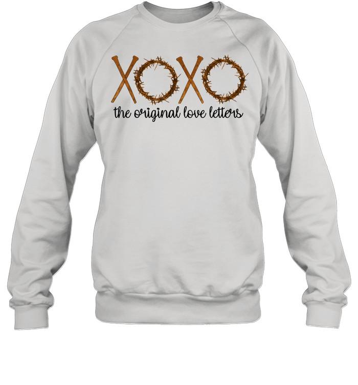 The Original Love Letters Easter Crown Thorns Religious  Unisex Sweatshirt
