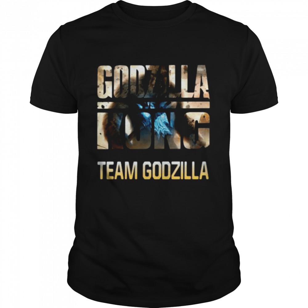 Godzilla Vs Kong Team Godzilla Shirt