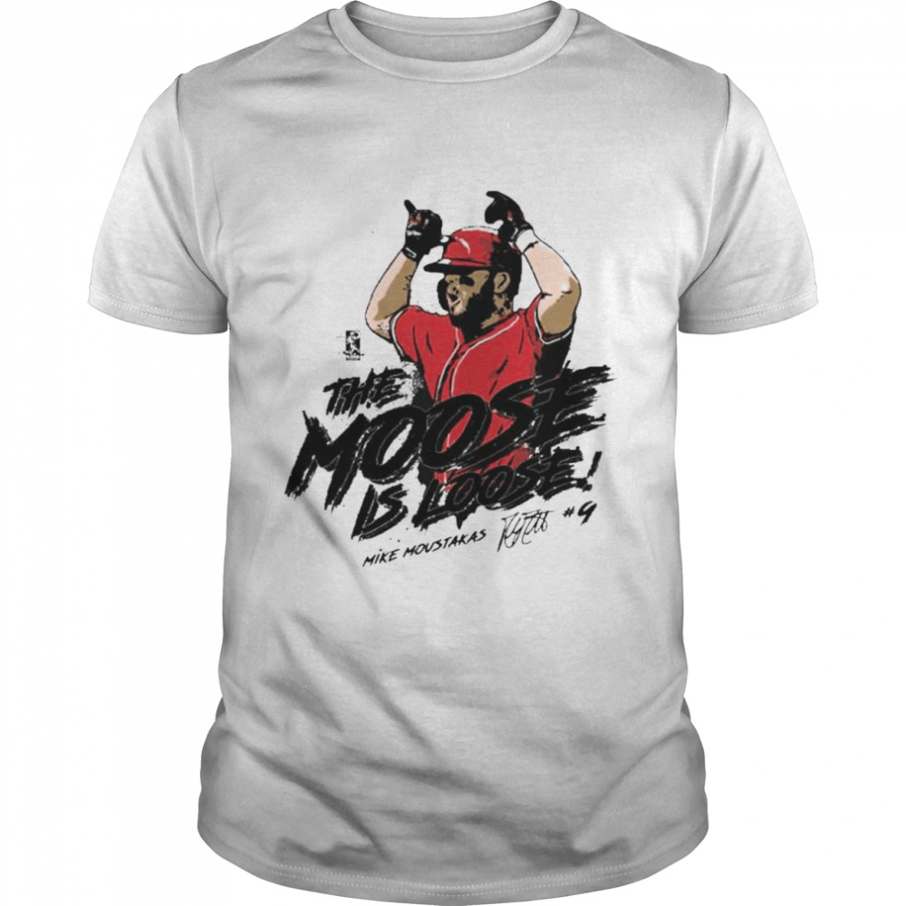Mike Moustakas the moose is loose shirt Classic Men's T-shirt