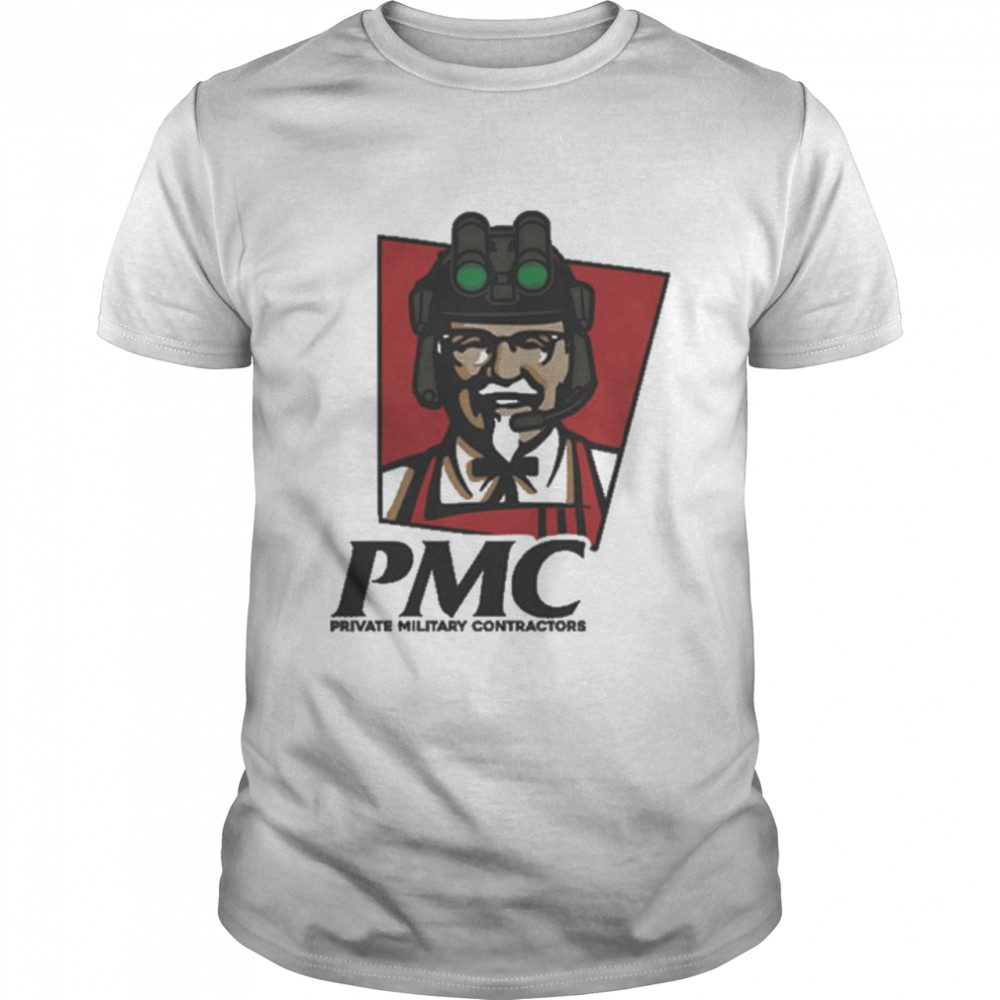 PMC Private Military Contractors Shirt