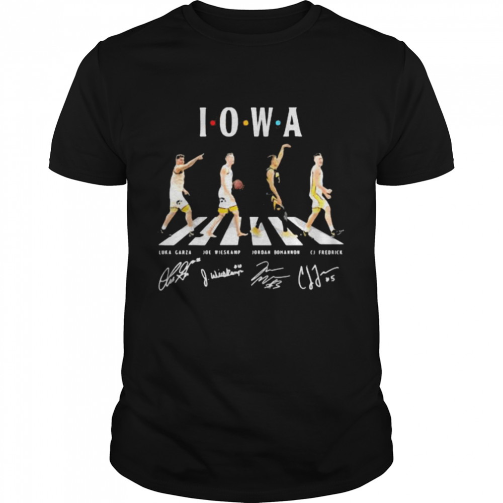 The Abbey Road I.O.W.A Signature Shirt