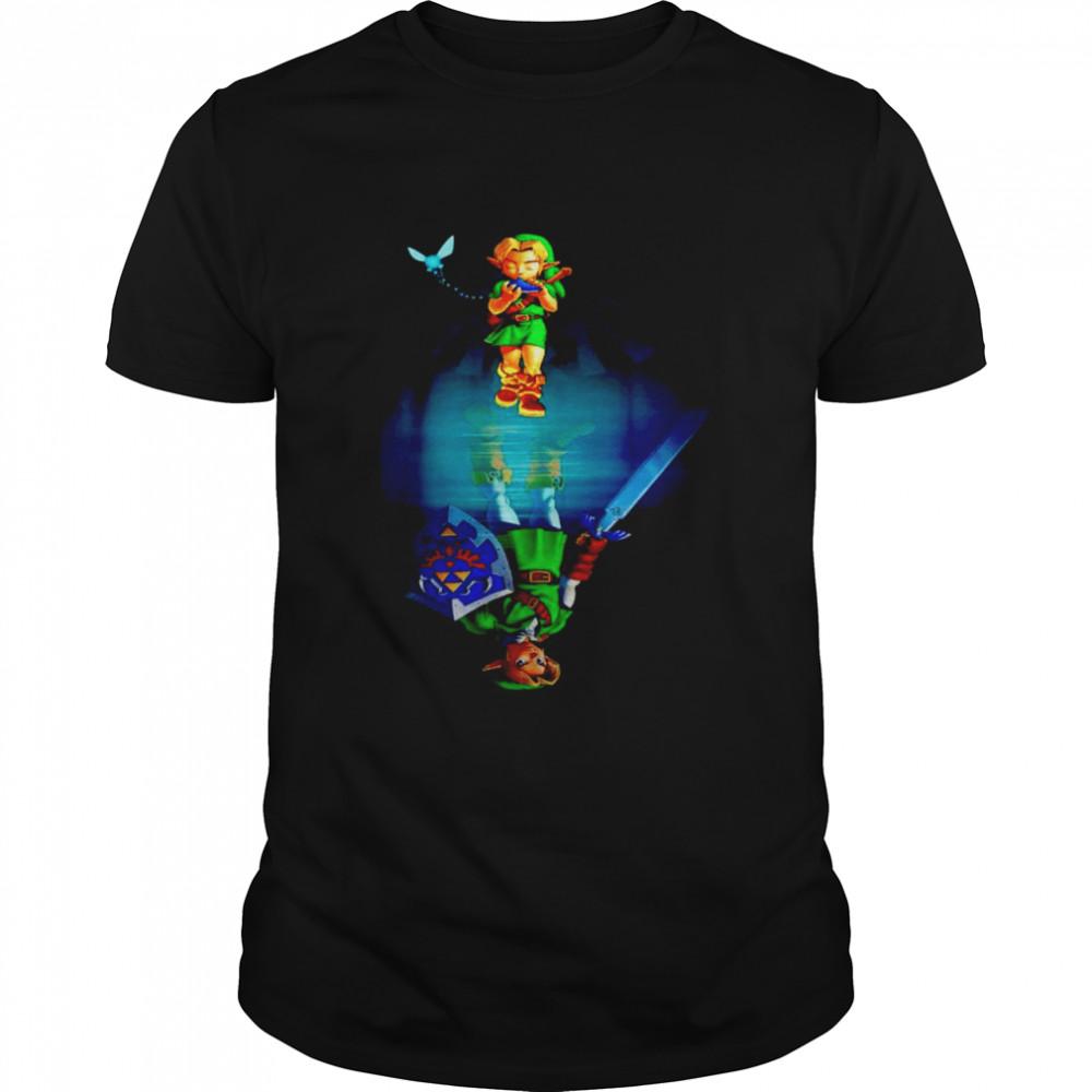 Zelda water mirror shirt