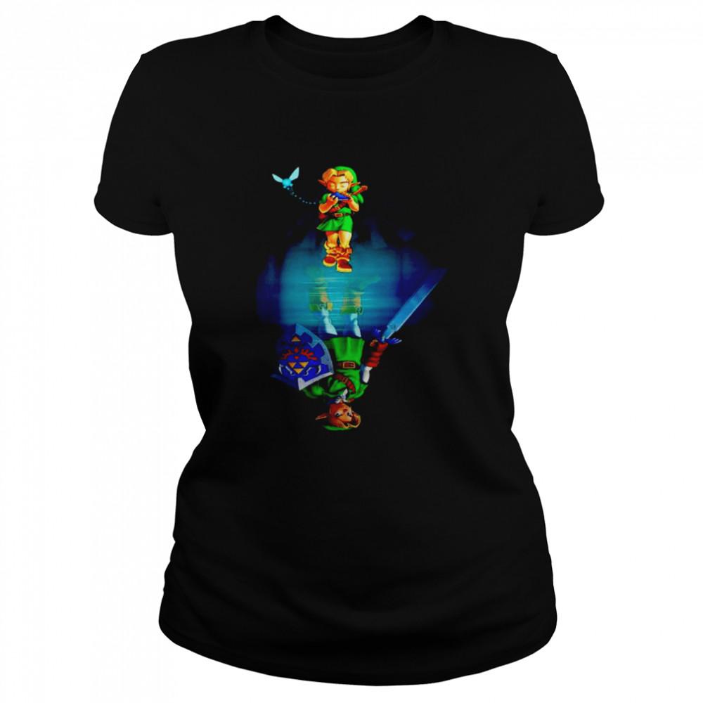 Zelda water mirror shirt Classic Women's T-shirt
