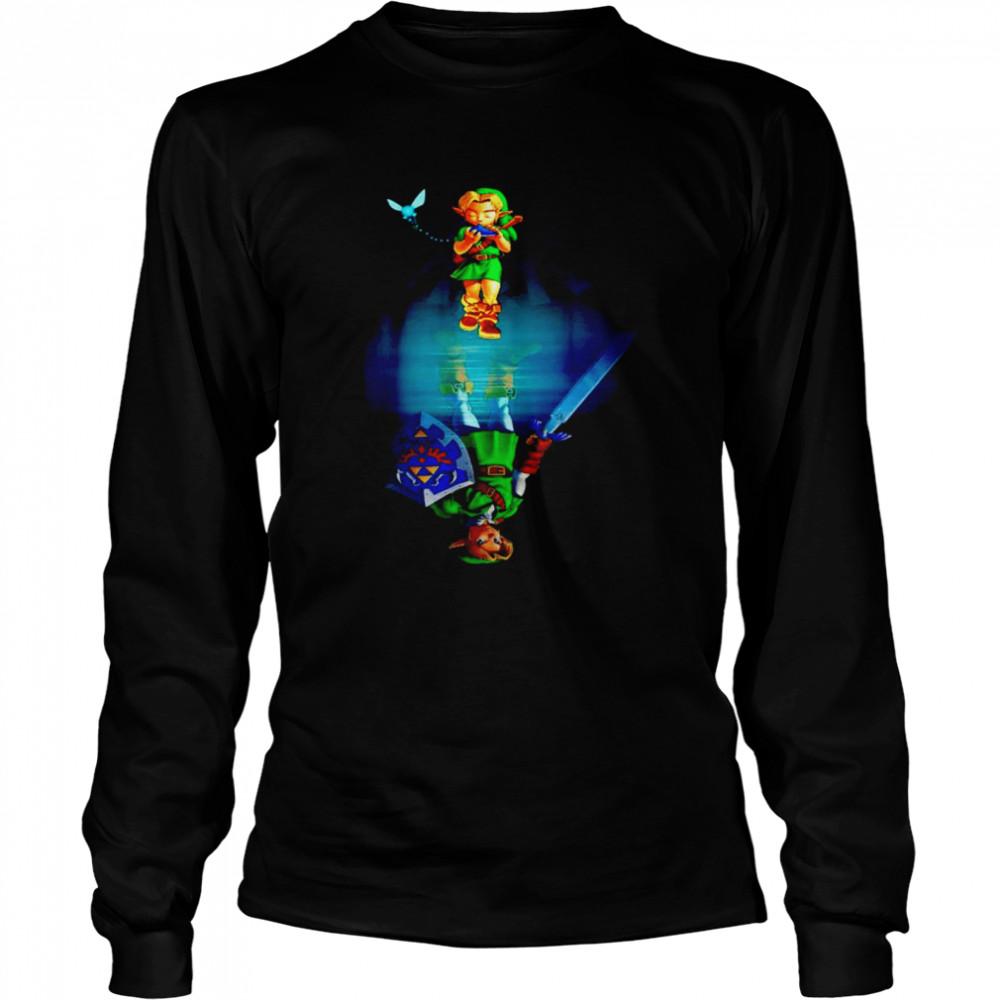 Zelda water mirror shirt Long Sleeved T-shirt