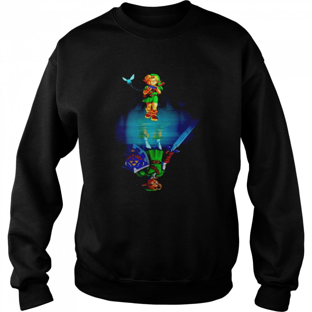 Zelda water mirror shirt Unisex Sweatshirt