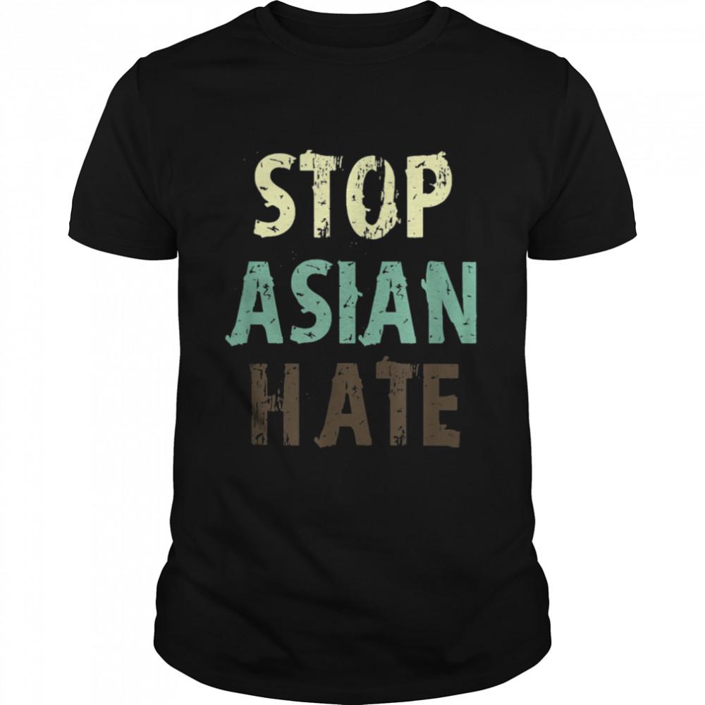 Stop Asian Hate  Classic Men's T-shirt