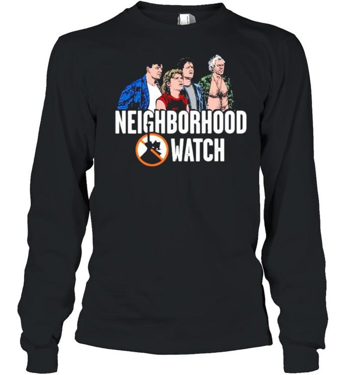 The Burbs Neighborhood Watch shirt Long Sleeved T-shirt