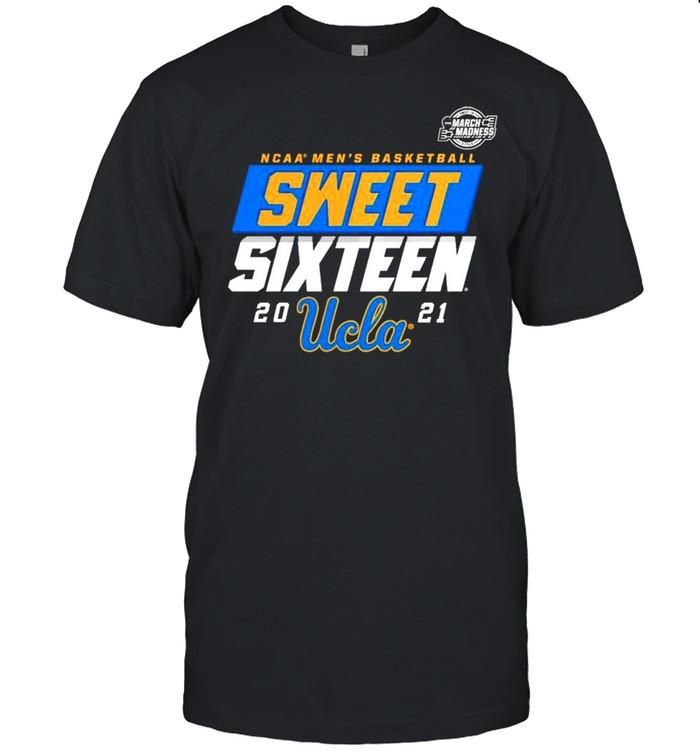 UCLA Bruins NCAA mens basketball sweet sixteen shirt