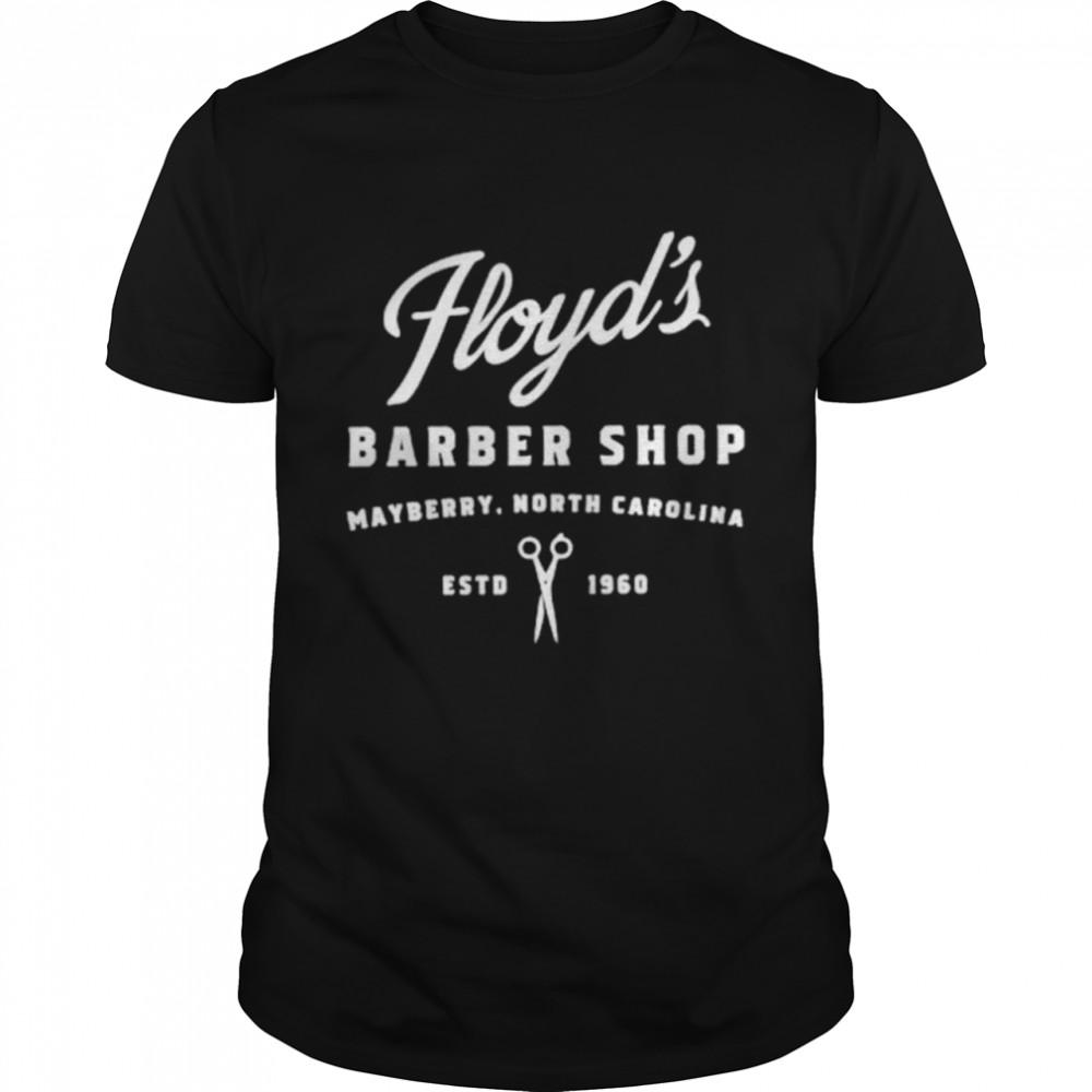 Floyds Barber Shop Mayberry North Carolina shirt