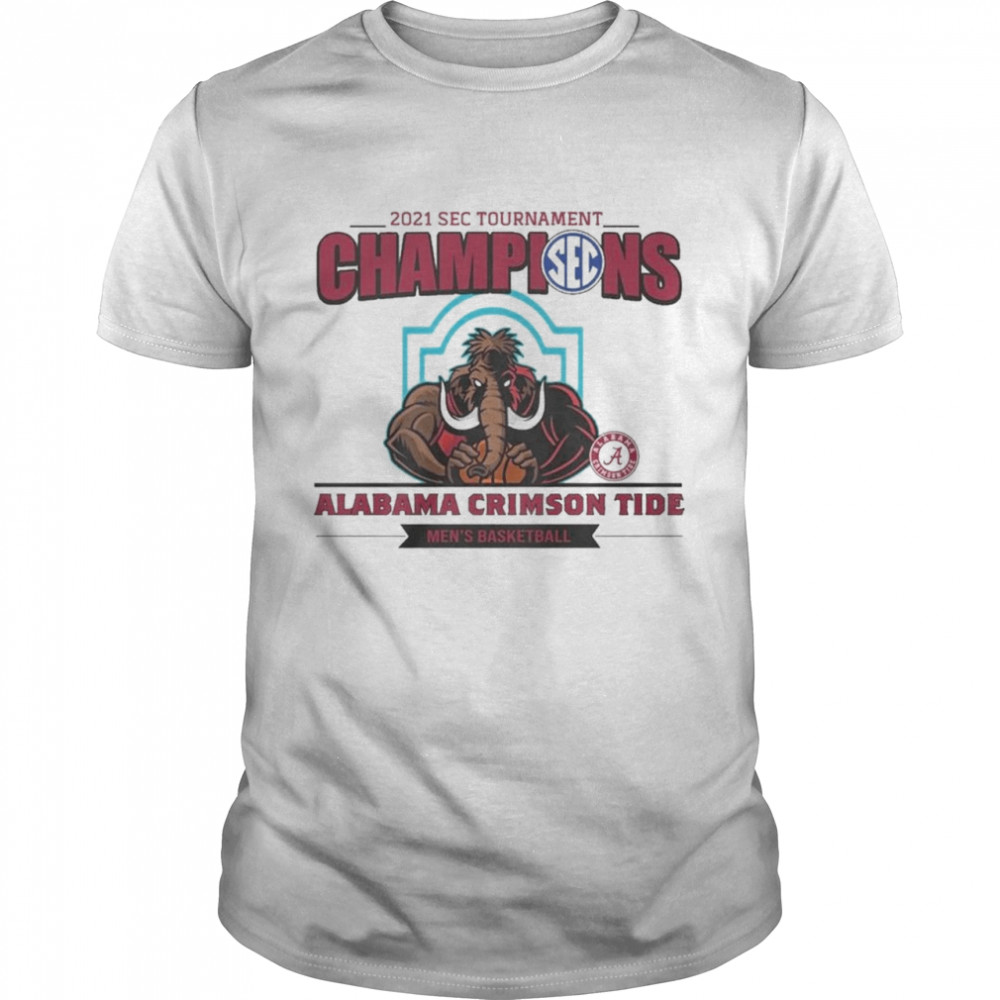 2021 Wac Tournament Champions Alabama Crimson Tide shirt Classic Men's T-shirt