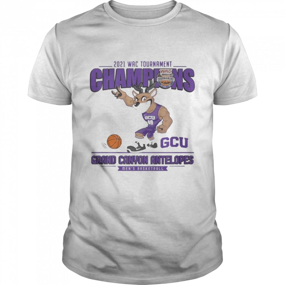 2021 Wac Tournament Champions Gcu Grand canyon antelopes shirt