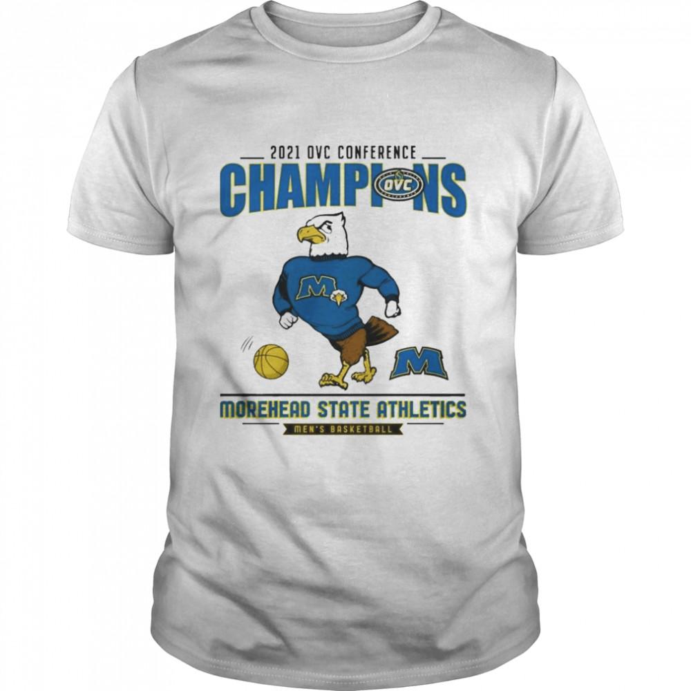 2021 Wac Tournament Champions Morehead State Athletics shirt