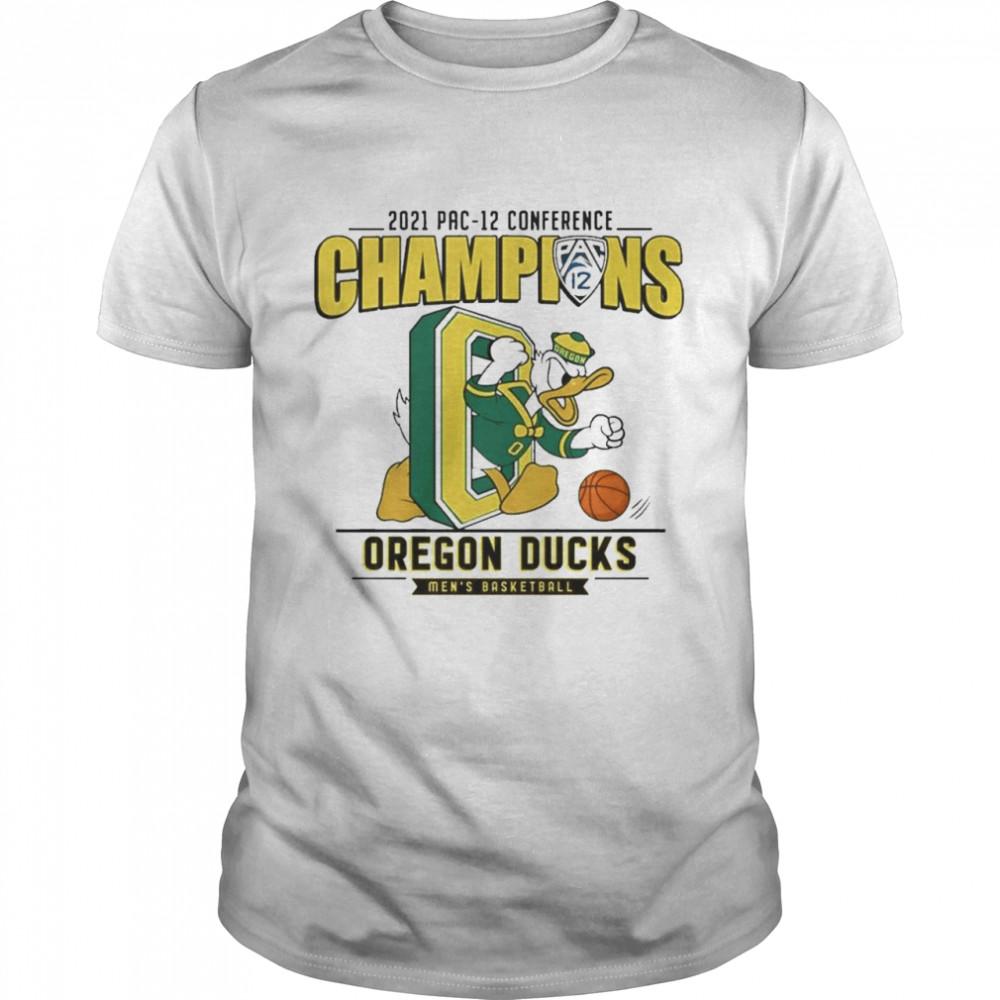 2021 wac tournament champions Oregon Ducks shirt