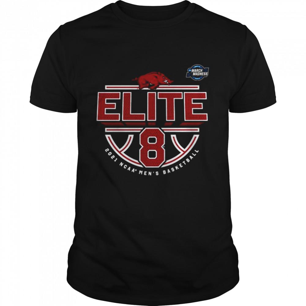 Arkansas Razorbacks Elite 8 2021 NCAA Men's Basketball shirt Classic Men's T-shirt