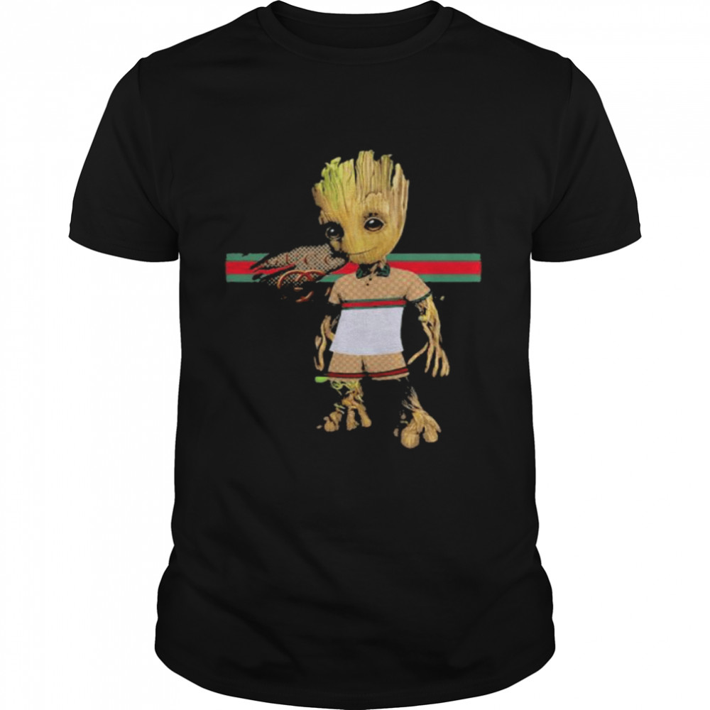 Baby Groot Wear Clothes  Classic Men's T-shirt