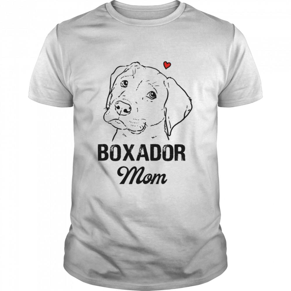 Boxador Mom  Classic Men's T-shirt