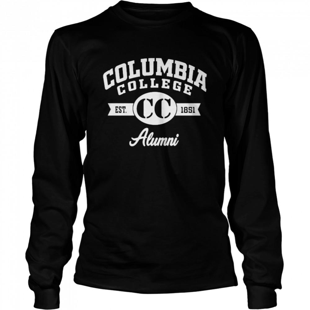 Columbia College Alumni 1851  Long Sleeved T-shirt